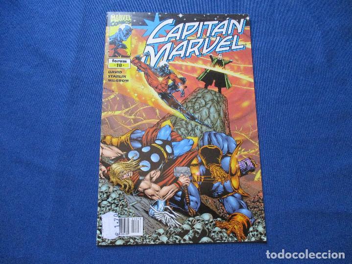 MARVEL / CAPITAN MARVEL N.º 18 DE PETER DAVID - FORUM 2002 (Tebeos y Comics - Forum - Otros Forum)