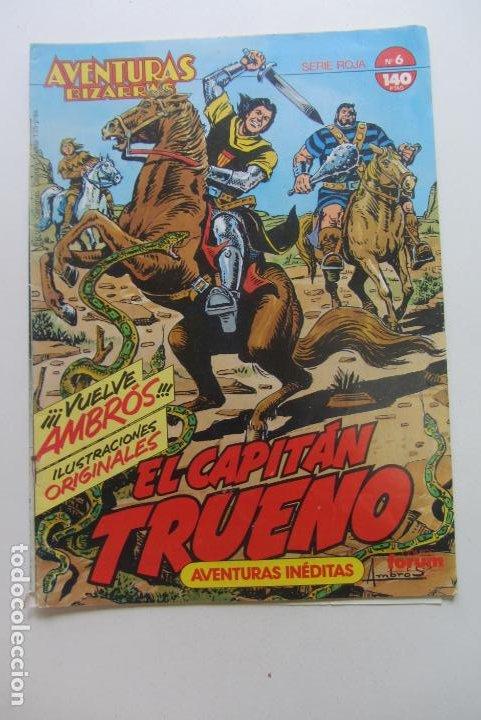 EL CAPITAN TRUENO. AVENTURAS BIZARRAS. Nº 6. FORUM CX60 (Tebeos y Comics - Forum - Otros Forum)