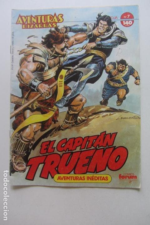 CAPITAN TRUENO AVENTURAS BIZARRAS SERIE ROJA Nº 7 FORUM CX60 (Tebeos y Comics - Forum - Otros Forum)