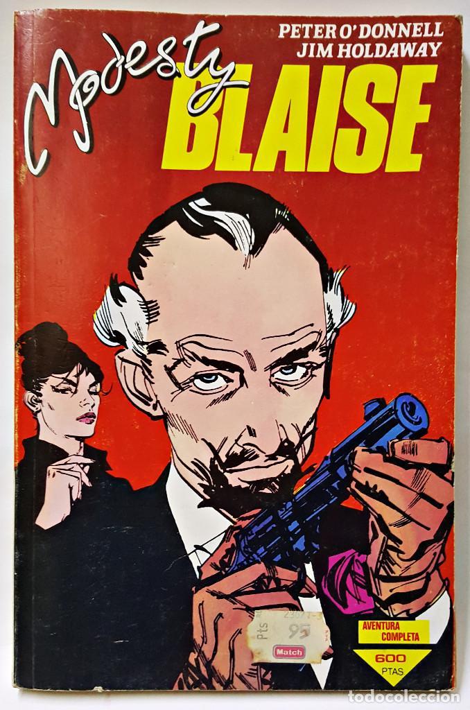 COMIC MODESTY BLAISE Nº 1, 2, 3, 4, 5, 6, 7 (Tebeos y Comics - Forum - Otros Forum)