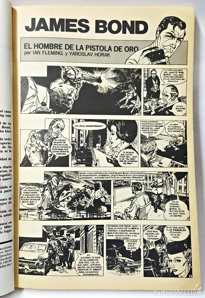 Cómics: COMIC JAMES BOND Nº 1, 2, 3, 4, 5, 6, 7 - Foto 3 - 211654061