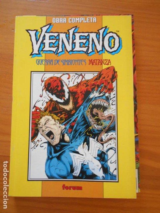 VENENO - GUERRA DE SIMBIONTES / MATANZA - OBRA COMPLETA - FORUM (9Ñ2) (Tebeos y Comics - Forum - Otros Forum)