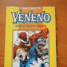 Cómics: VENENO - GUERRA DE SIMBIONTES / MATANZA - OBRA COMPLETA - FORUM (9Ñ2). Lote 211654884