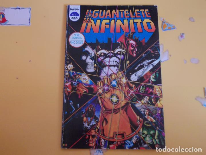 EL GUANTELETE DEL INFINITO. UNO DE SEIS. FORUM (Tebeos y Comics - Forum - Otros Forum)
