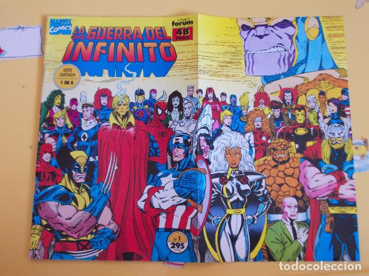 LA GUERRA DEL INFINITO. UNO DE SEIS. FORUM (Tebeos y Comics - Forum - Otros Forum)