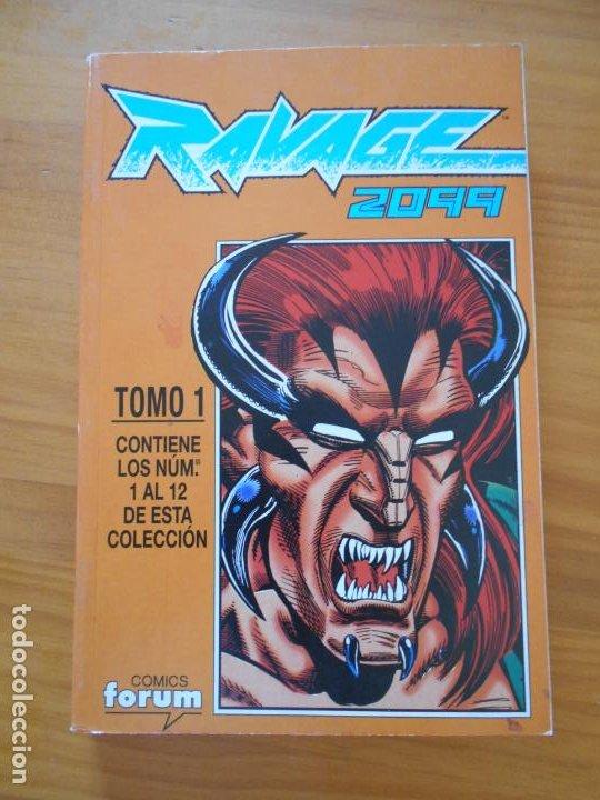 RAVAGE 2099 - TOMO 1 - Nº 1 A 12 EN UN TOMO - FORUM (9Ñ2) (Tebeos y Comics - Forum - Otros Forum)