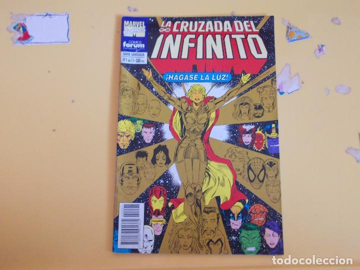 LA CRUZADA DEL INFINITO. UNO DE ONCE. FORUM (Tebeos y Comics - Forum - Otros Forum)