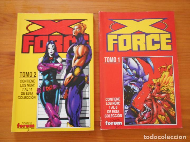 Cómics: X FORCE COMPLETA - 49 NUMEROS EN 9 TOMOS RETAPADOS- FORUM (HG) - Foto 3 - 211659539