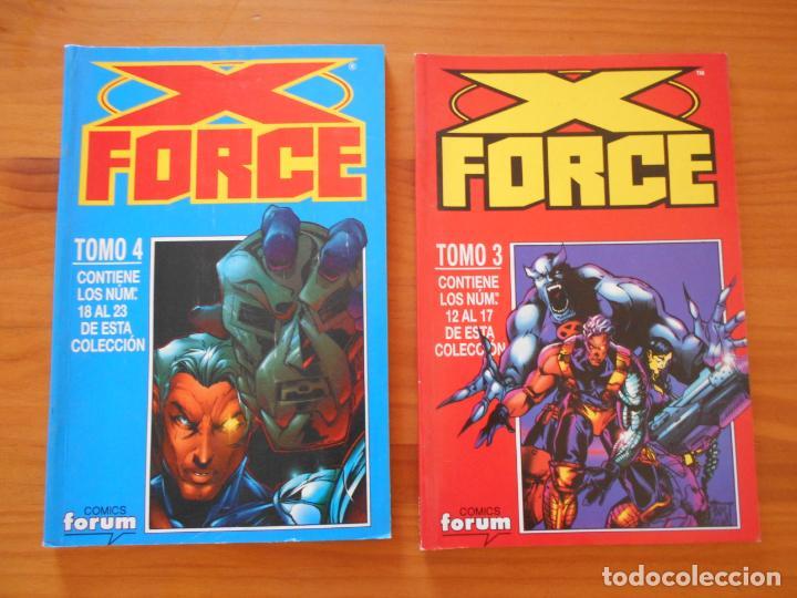 Cómics: X FORCE COMPLETA - 49 NUMEROS EN 9 TOMOS RETAPADOS- FORUM (HG) - Foto 4 - 211659539
