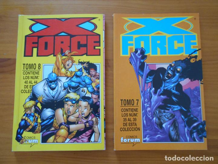 Cómics: X FORCE COMPLETA - 49 NUMEROS EN 9 TOMOS RETAPADOS- FORUM (HG) - Foto 6 - 211659539