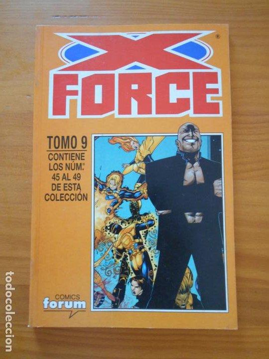 Cómics: X FORCE COMPLETA - 49 NUMEROS EN 9 TOMOS RETAPADOS- FORUM (HG) - Foto 7 - 211659539