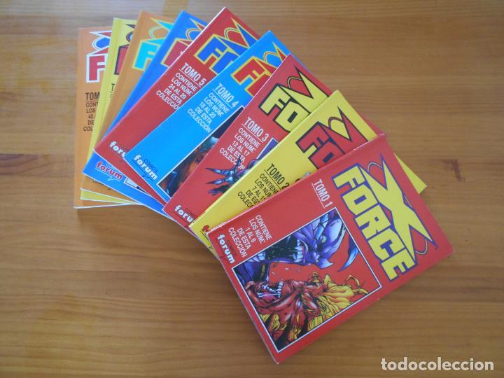 X FORCE COMPLETA - 49 NUMEROS EN 9 TOMOS RETAPADOS- FORUM (HG) (Tebeos y Comics - Forum - Otros Forum)