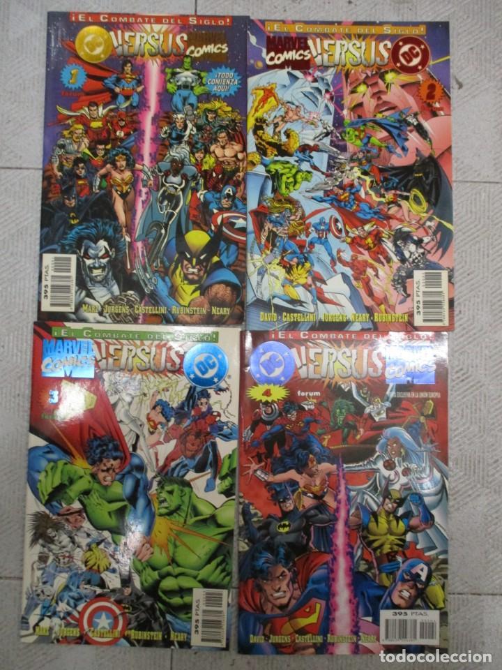 DC VERSUS MARVEL / EL COMBATE DEL SIGLO / COLECCION COMPLETA (Tebeos y Comics - Forum - Otros Forum)