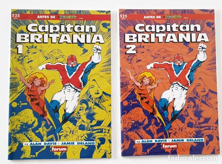 2 COMICS CAPITAN BRITANIA Nº 1 - 2 - COLECCION PRESTIGIO - FORUM - IMPECABLES (Tebeos y Comics - Forum - Otros Forum)