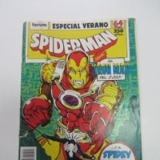 Cómics: SPIDERMAN ESPECIAL VERANO 1989 FORUM MUCHOS MAS ALA VENTA, MIRA TUS FALTAS C24. Lote 211796780