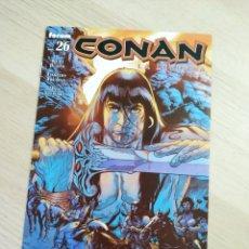 Cómics: EXCELENTE ESTADO CONAN LA LEYENDA 26 FORUM. Lote 211854005