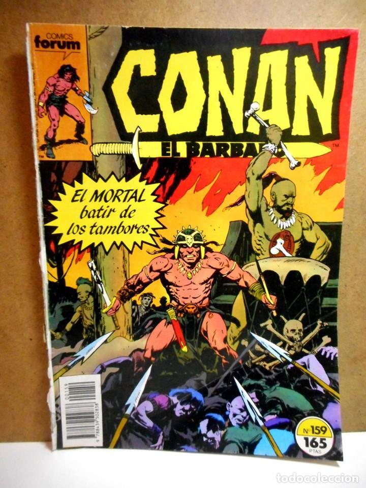 CONAN EL BÁRBARO Nº 159 ( PROVIENE DE RETAPADO ) (Tebeos y Comics - Forum - Conan)