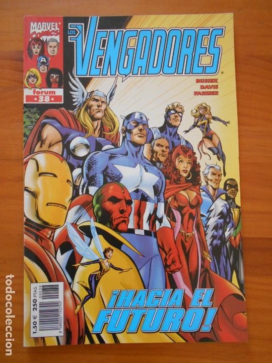 LOS VENGADORES VOLUMEN 3 Nº 38 - VOL. 3 - MARVEL - FORUM (8B) (Tebeos y Comics - Forum - Vengadores)