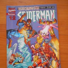 Cómics: SPIDERMAN VOLUMEN 5 Nº 12 - VOL. 5 - LOMO ROJO - MARVEL - FORUM (6N). Lote 211881555