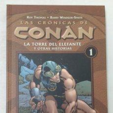 Cómics: LAS CRÓNICAS DE CONAN. TOMO 1. FORUM. TAPA DURA. PERFECTO ESTADO. P.V.P. 15€. Lote 211914998