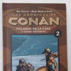 Cómics: LAS CRÓNICAS DE CONAN. TOMO 2. FORUM. TAPA DURA. PERFECTO ESTADO. P.V.P. 15€. Lote 211920355