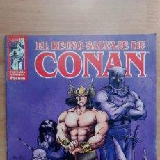 Cómics: EL REINO SALVAJE DE CONAN 18 FORUM - POSIBILIDAD DE ENTREGA EN MANO EN MADRID. Lote 211948998