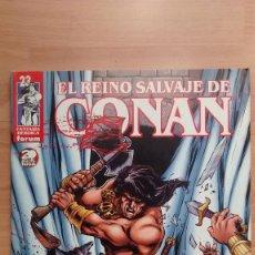Cómics: EL REINO SALVAJE DE CONAN 23 FORUM - POSIBILIDAD DE ENTREGA EN MANO EN MADRID. Lote 211949060