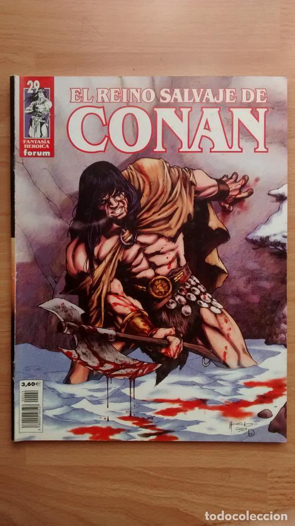 EL REINO SALVAJE DE CONAN 29 FORUM - POSIBILIDAD DE ENTREGA EN MANO EN MADRID (Tebeos y Comics - Forum - Conan)