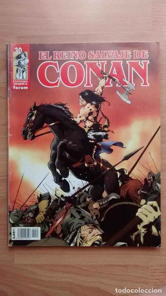 EL REINO SALVAJE DE CONAN 30 FORUM - POSIBILIDAD DE ENTREGA EN MANO EN MADRID (Tebeos y Comics - Forum - Conan)