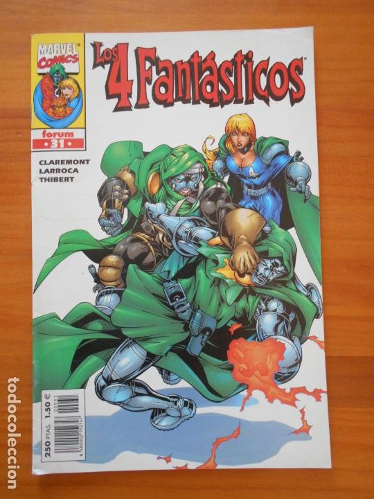 LOS 4 FANTASTICOS VOLUMEN 3 Nº 31 - VOL. 3 - MARVEL - FORUM (8J) (Tebeos y Comics - Forum - 4 Fantásticos)