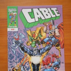 Cómics: CABLE VOLUMEN 2 Nº 49 - VOL. 2 - MARVEL - FORUM (8J). Lote 211951192