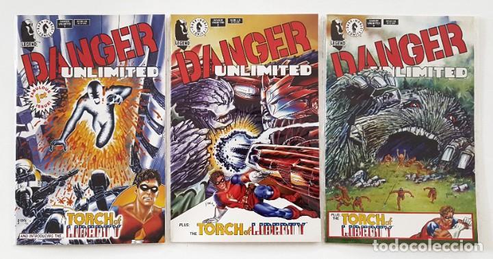 DANGER UNLIMITED - Nº 1 - 2 - 4 - JOHN BYRNE - INGLES - DARK HORSE COMICS - PERFECTOS (Tebeos y Comics - Forum - Nuevos Mutantes)