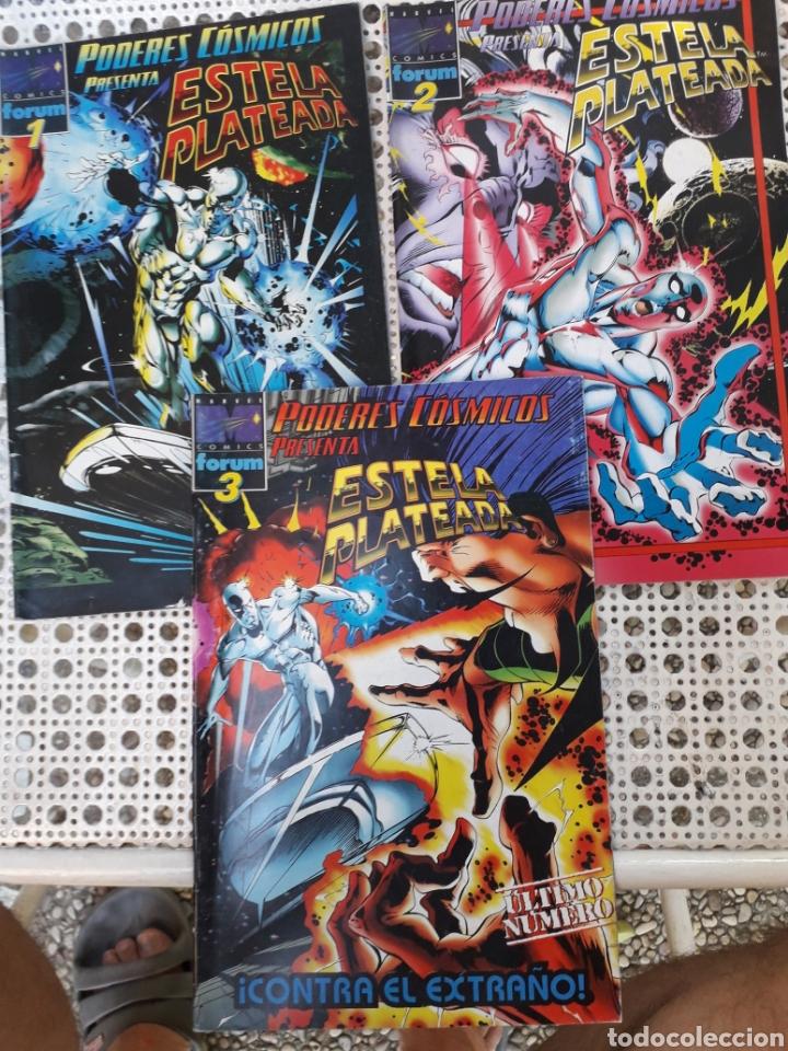 PODERES CÓSMICOS VOL 3. NÚMEROS 1,2 Y 3. COMPLETA (Tebeos y Comics - Forum - Silver Surfer)