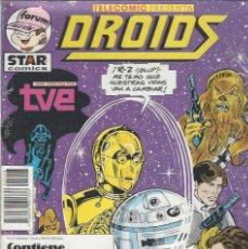 Cómics: STAR WARS DROIDS- RETAPADO - NºS 24 AL 28 - NUEVO A ESTRENAR !!. Lote 252915520