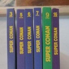 Cómics: LOTE DE 6 TOMOS DE SUPERCONAN.. Lote 212211682