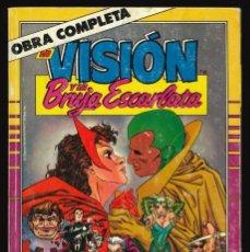 Comics : LA VISIÓN Y LA BRUJA ESCARLATA - FORUM / COLECCIÓN COMPLETA EN UN TOMO RETAPADO. Lote 212218232