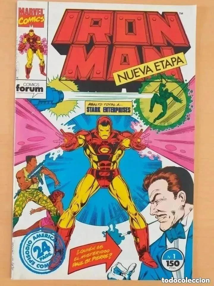 IRON MAN. NUEVA ETAPA. NUM 1. ASALTO TOTAL A STARK ENTERPRISES. (Tebeos y Comics - Forum - Iron Man)