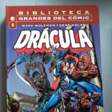 Cómics: BIBLIOTECA MARVEL DRACULA 5. Lote 212346595