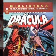 Cómics: BIBLIOTECA MARVEL DRACULA 2. Lote 212346795