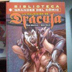 Comics : BIBLIOTECA MARVEL ESPECIAL LA MALDICION DE DRACULA. Lote 212347076