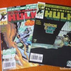 Cómics: HULK VOL. 3 NºS 6 Y 7 ( PETER DAVID KUBERT ) ¡MUY BUEN ESTADO! FORUM MARVEL. Lote 212368166