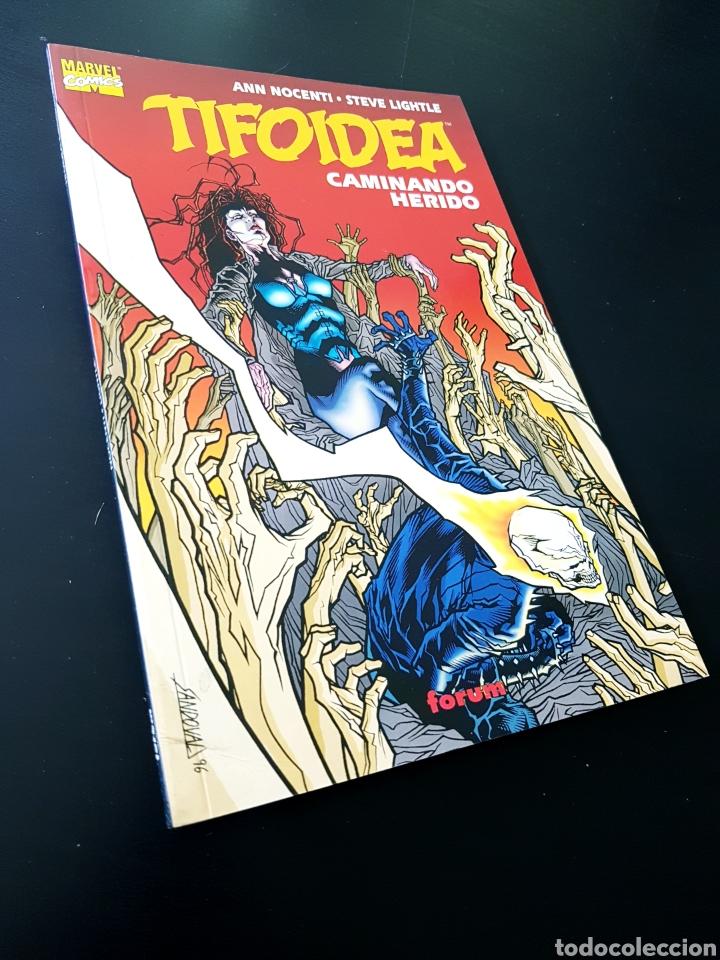 CASI EXCELENTE ESTADO TIFOIDEA CAMINANDO HERIDO TOMO FORUM (Tebeos y Comics - Forum - Prestiges y Tomos)
