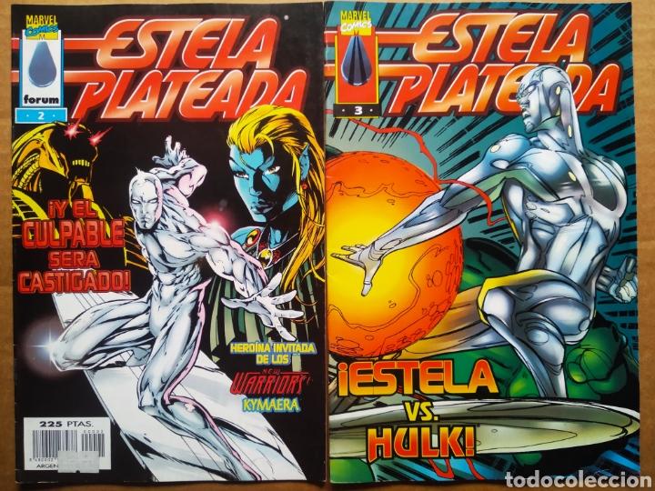 Cómics: Estela Plateada n°1-2-3 (Cómics Forum, 1998). Por Perez y DeMatteis. Un Nuevo Comienzo - Foto 2 - 172269664