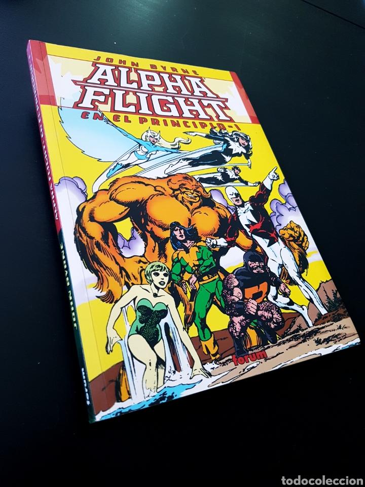 CASI EXCELENTE ESTADO ALPHA FLIGHT EN EL PRINCIPIO TOMO FORUM (Tebeos y Comics - Forum - Alpha Flight)