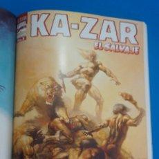 Cómics: COMIC RETAPADO DE KA-ZAR EL SALVAJE AÑO 1999 Nº 1-2-3 COMICS FORUM LOTE 35 B. Lote 285042683