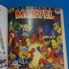 Cómics: COMIC RETAPADO DE CLASICOS MARVEL LOS VENGADORES AÑO 1989 Nº 10 NUMEROS COMICS FORUM LOTE 29. Lote 212509135