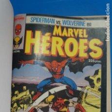 Cómics: COMIC RETAPADO DE MARVEL HEROES SPIDER-MAN LOBEZNO AÑO 1987 Nº 6 NUMEROS*** COMICS FORUM LOTE 29. Lote 212510281