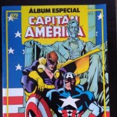 Cómics: ALBUM ESPECIAL CAPITAN AMERICA-CON DOS NUMEROS EXTRA. Lote 212515691