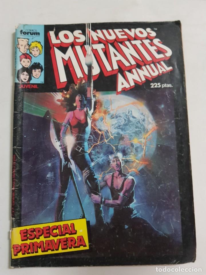 LOS NUEVOS MUTANTES ANNUAL ESPECIAL PRIMAVERA ESTADO NORMAL COMICS FORUM MAS ARTICULOS (Tebeos y Comics - Forum - Nuevos Mutantes)