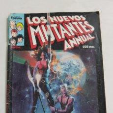 Comics : LOS NUEVOS MUTANTES ANNUAL ESPECIAL PRIMAVERA ESTADO NORMAL COMICS FORUM MAS ARTICULOS. Lote 212563347